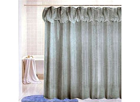 Floral Accent Rounded Shower Curtain Using Chrome Curtain