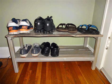 pallet shoe rack guide patterns