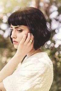 Cheveux Carré Court : coiffure cheveux courts avec frange ~ Melissatoandfro.com Idées de Décoration