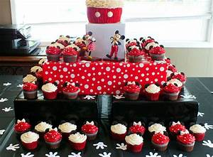 Mickey Mouse Cupcake Stand - Two Sisters