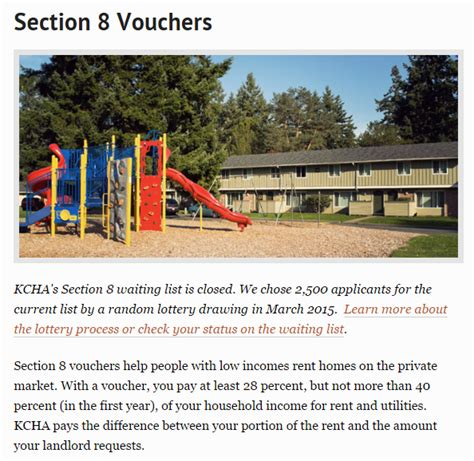 section 8 king county housing authority web review king county housing
