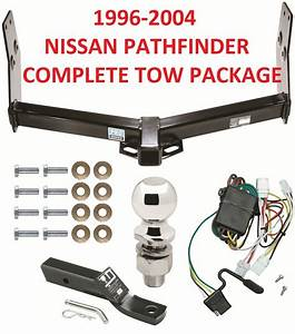 Complete Tow Hitch Package Fits A 1996