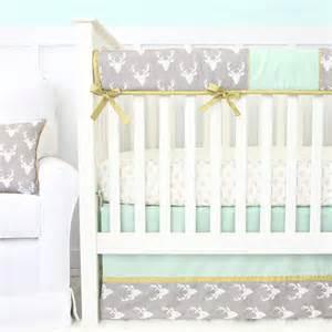 woodlands deer crib bedding set by caden rosenberryrooms com