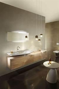 meuble salle de bain des modeles de meubles suspendus With salle de bain design avec meuble sous lavabo suspendu