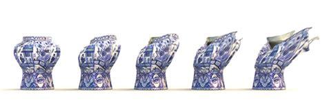 contemporary vase  front  moooi  va design