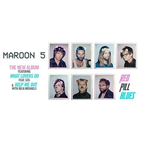 Maroon 5 2017 Album Release Date News 'red Pill Blues
