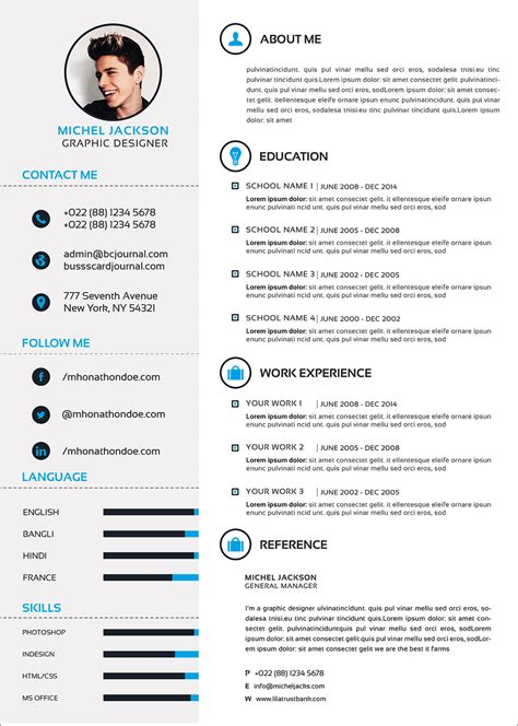 Professional Resume Format Download Doc