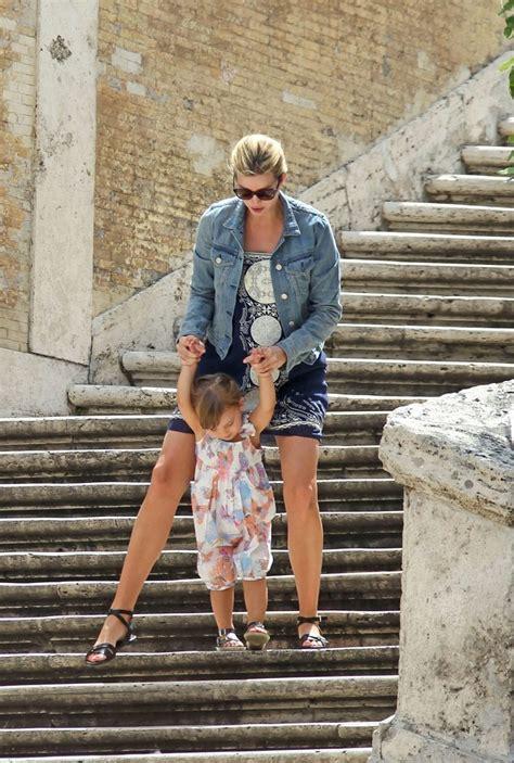 trump ivanka baby bump shows rome pregnant zimbio