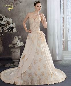 champagne color wedding dresses promotion shop for With champagne color wedding dresses