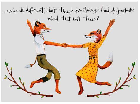 Fantastic Mr Fox Print Mr And Mrs Fox Quote