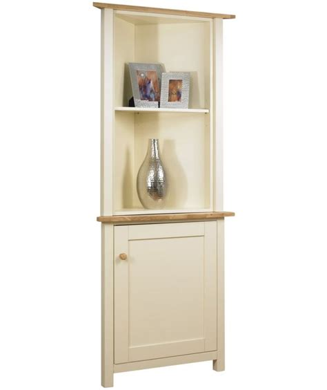 kitchen corner display cabinet buy lancaster corner display cabinet top ivory at argos 6613