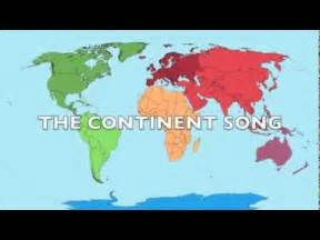 7 Continents Song YouTube
