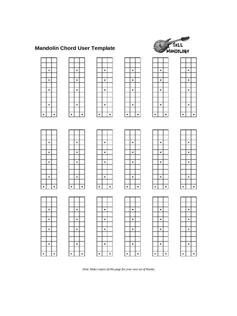 mandolin chord chart template   templates