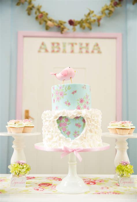 shabby chic birthday kara s party ideas shabby chic little bird birthday party kara s party ideas