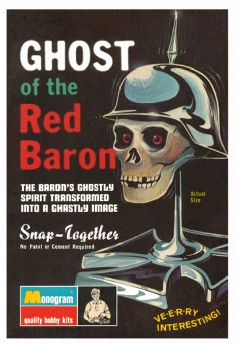 product ghost   red baron print