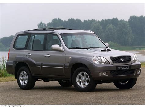 Hyundai Terracan 35 V6 200 Hp Car Technical Data Power