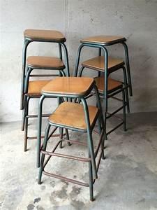 Tabouret Industriel Reglable : tabouret industriel vintage ~ Teatrodelosmanantiales.com Idées de Décoration