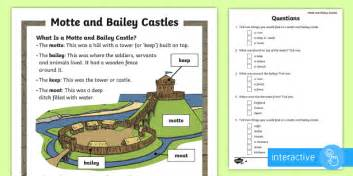 ks motte  bailey differentiated comprehension activity