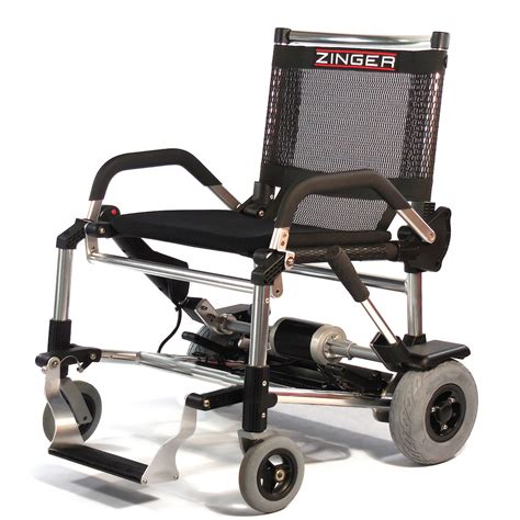 zinger folding lightweight electric wheelchair delivered
