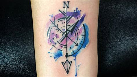 simple meaningful simple watercolor tattoo watercolor