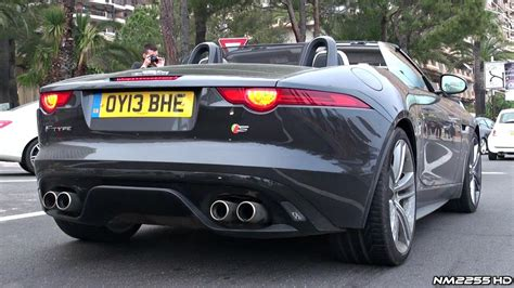 Jaguar F Type Sound by Jaguar F Type V8 S Loud Accelerations Sound