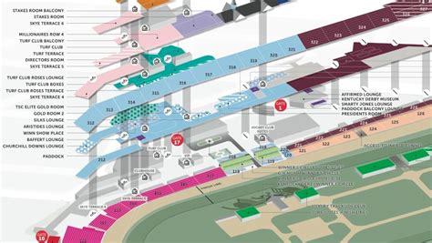 kentucky derby  churchill downs seating chart kentucky derby tours