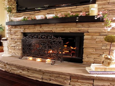 stack rock fireplace fireplace stacked fireplace fireplace