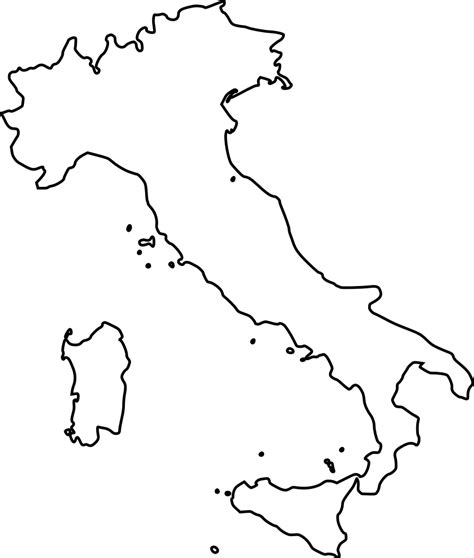 Coloring Italy by Italy Map Coloring Pages Learny