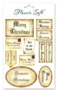 Vintage Christmas Card Sentiments