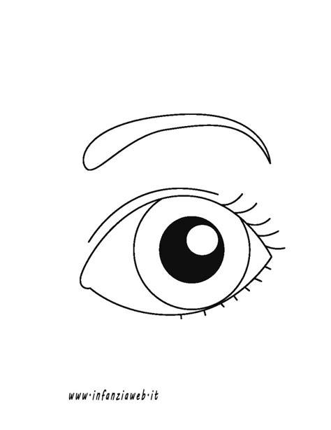 disegni di occhi da colorare disegno occhio facili tecnogers con disegni di occhi
