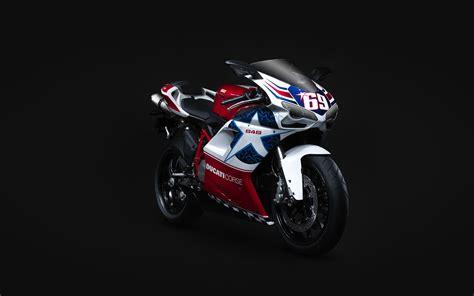 Ducati 848 Sports Bike Wallpapers