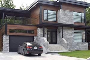 maison moderne brique ventana blog With maison brique et bois