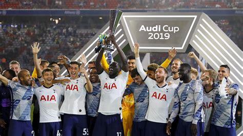 tottenham  bayern munich result  audi cup final
