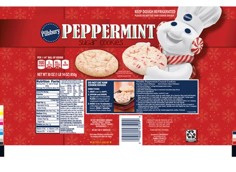 If you like a sweeter cookie, add a little extra sugar.brif the dough is too crumbly add a teaspoon of water, and if still too crumbly add another teaspoon and knead it. Pillsbury Sugar Cookie Dough, Candy Cane | Hy-Vee Aisles Online Grocery Shopping