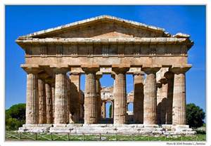 Doric Temple Column