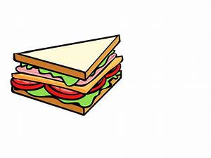 Triangle Sandwich Clipart - ClipartXtras