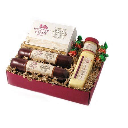 costco hickory farms gift pack hickory farms tradition sausage cheese 5 gift set walmart
