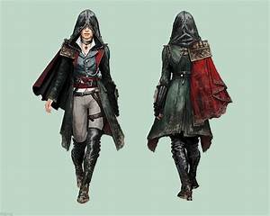 Evie Frye + Outfit + Concept Art   Assassin's Creed ...