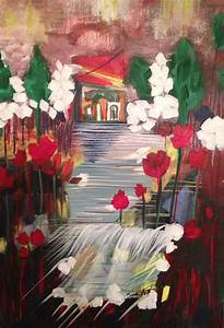 My Dream Home Painting by Sima Amid Wewetzer