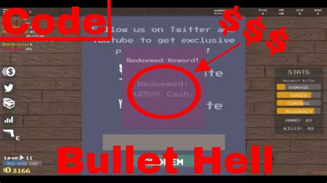 code   roblox bullet hell youtube