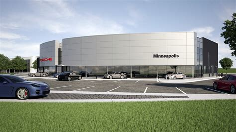 porsche dealership pohlads shift gears on porsche dealership will build new