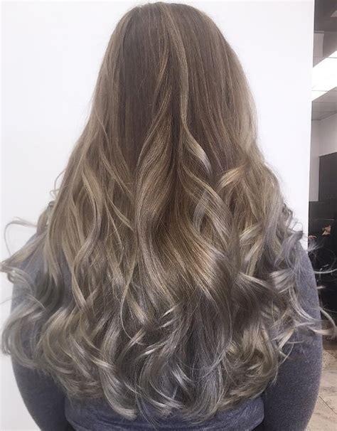 balayage braun grau balayage braun grau kurze haare