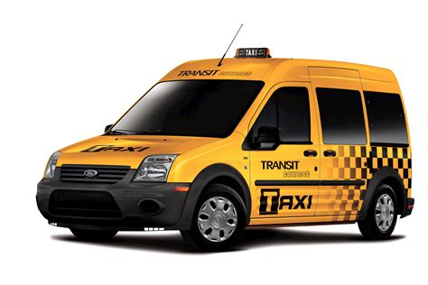 Fords Transit Connect Joins The Nyc Taxi Fleet