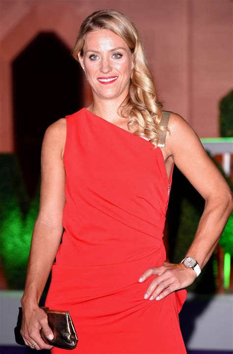 Angelique kerber is a german professional tennis player. ANGELIQUE KERBER at Wmbledon 2018 Champions Dinner in ...