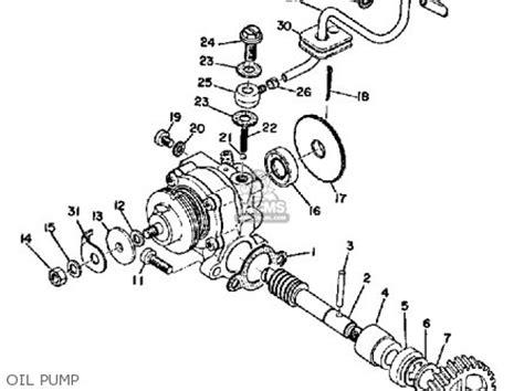 yamaha lt2 1972 1973 parts list partsmanual partsfiche