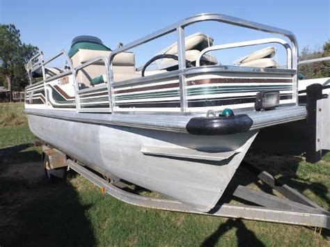 Used Voyager Pontoon Boats For Sale by Pontoon Voyager Boats For Sale Boats