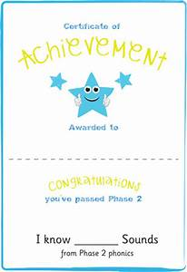 Email Template Word Early Learning Resources Phase 2 Editable Certificate