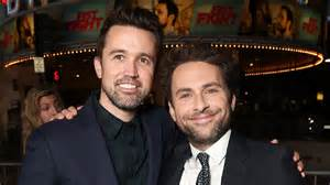 Rob McElhenney-Charlie Day Comedy Scores Apple Series ...