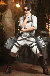 Cosplay Levi Rivaille shingeki no kyojin by Celine ...