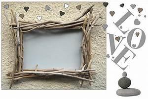 Cadre En Bois Flotté : cadres photos en bois flott au fil de l 39 eau ~ Teatrodelosmanantiales.com Idées de Décoration